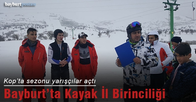 Bayburt'ta Kayak İl Birinciliği