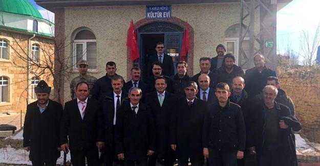 Yukarı Kırzı Köyü Kültür Evi hizmete açıldı