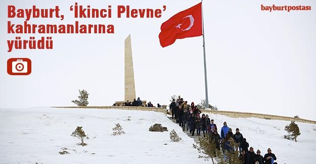 Bayburt, 'İkinci Plevne' kahramanlarına yürüdü