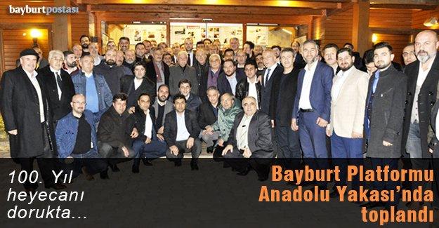 Bayburt Platformu, Anadolu Yakası'nda toplandı