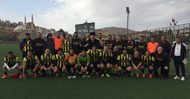 Veteranlar futbol heyecanı Bayburt'ta devam etti
