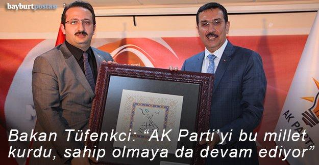 Bakan Tüfenkci, Siyaset Akademesi açılışında konuştu