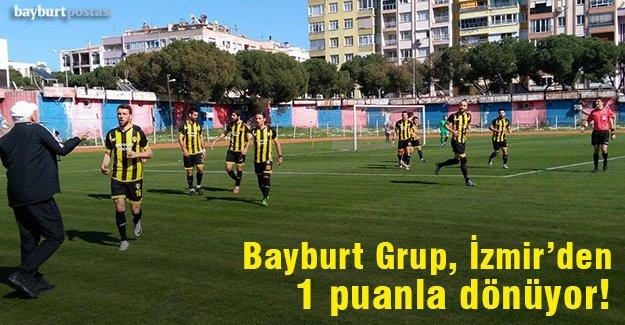 Bayburt Grup, İzmir'den 1 puanla döndü