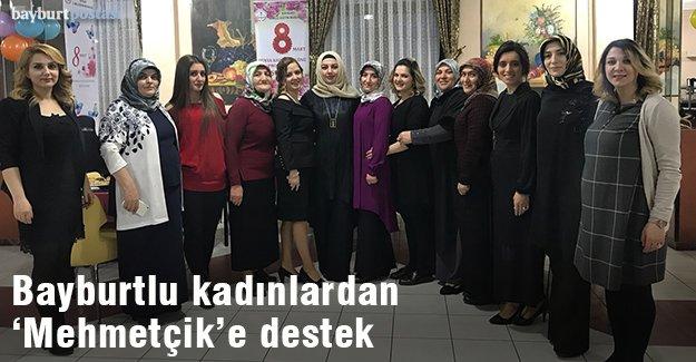 Bayburtlu kadınlardan 'Mehmetçik'e destek