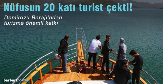 Demirözü Barajı'ndan turizme büyük katkı