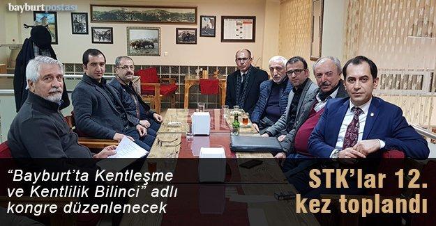 STK'lar 12. kez toplandı