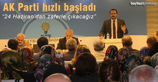 AK Parti, seçim çalışmalarına hızlı başladı