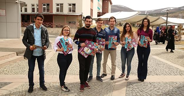 Bayburt Üniversitesi Öğrencilerinden Kültür ve Edebiyat Dergisi