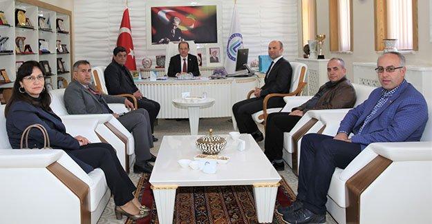 Bayburt Üniversitesi'ne 'Tarımsal İşbirliği' ziyareti