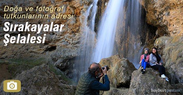 Doğa fotoğraf tutkunlarının adresi: Sırakayalar Şelalesi