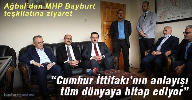 Ağbal'dan MHP'ye ziyaret