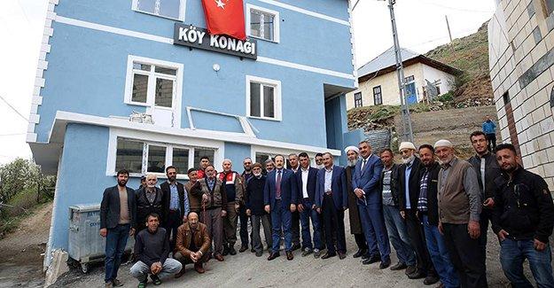 Mehmetçiğe en çok desteği veren Kozluk Köyü'ne ziyaret