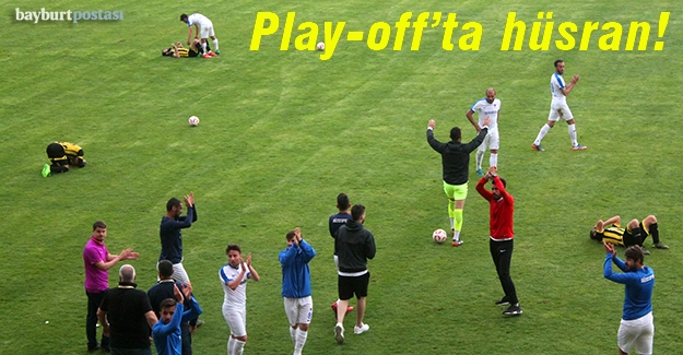 Play-off macerası kısa sürdü