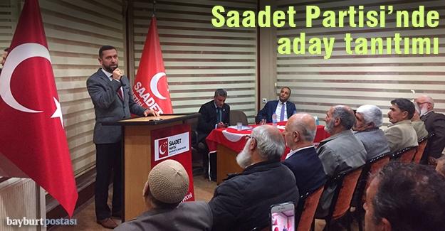 Saadet Partisi'nin milletvekili adayı Murat Gürbüz