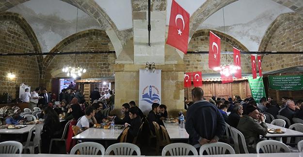 Taşhan'da ilk iftar