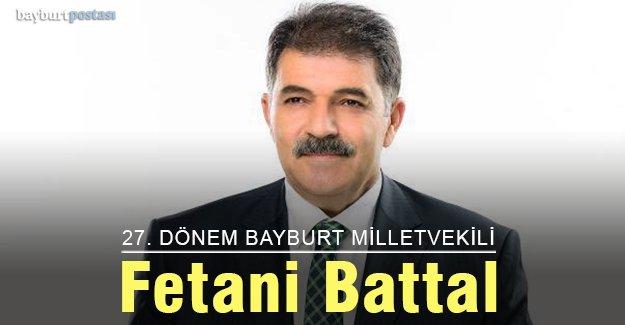 27. Dönem Bayburt Milletvekili Fetani Battal