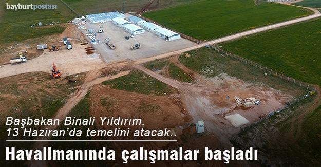 Havalimanı için çalışmalar başlatıldı