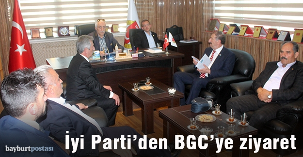 İyi Parti heyetinden BGC'ye ziyaret