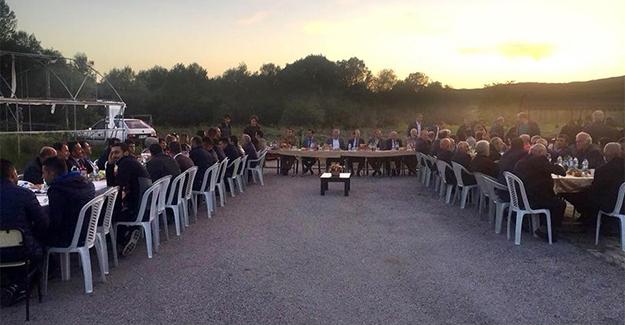 Karşıgeçit'te toplu iftar