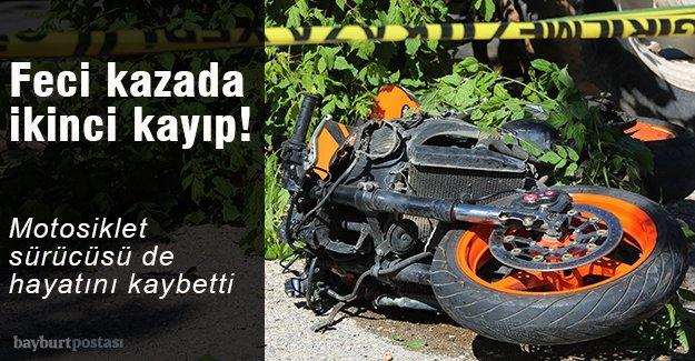 Motosiklet sürücüsü de hayatını kaybetti!