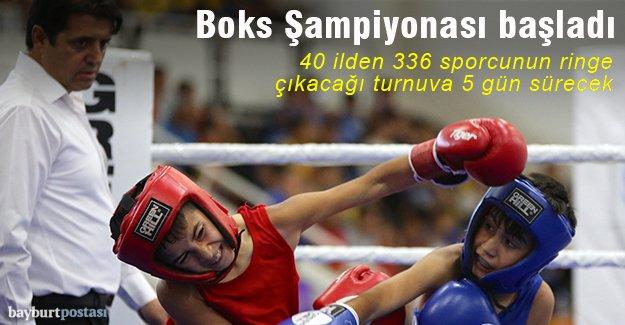 Bayburt, Alt Minikler Türkiye Boks Şampiyonası'na ev sahipliği yapıyor