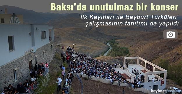 Baksı Müzesi'nde Bülent Ortaçgil, Erkan Oğur ve İ. Hakkı Demircioğlu konseri