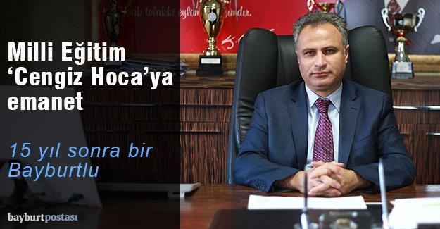 Bayburt İl Milli Eğitim Müdürü Cengiz Karakaşoğlu