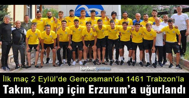 Bayburt İl Özel İdare, 11 günlük kamp için Erzurum'a uğurlandı
