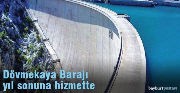 Dövmekaya Barajı 260 dekar alanı sulayacak