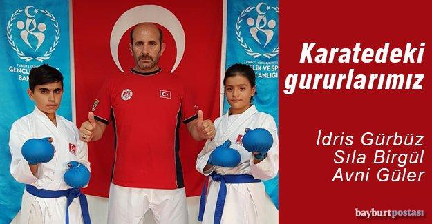 Karate Milli Takımında üç Bayburtlu