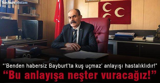 MHP İl Başkanı Bekir Kasap'tan açıklamalar