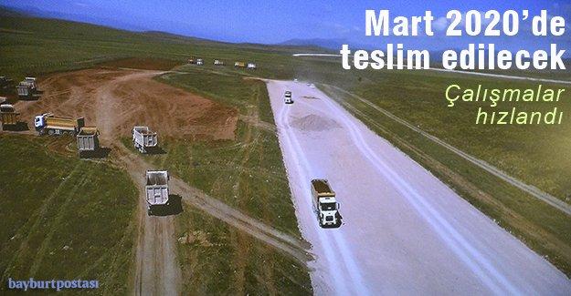 Bayburt-Gümüşhane Havalimanı'nda çalışmalar sürüyor