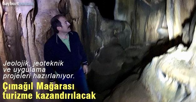 Çımağıl Mağarası turizme kazandırılacak mı?
