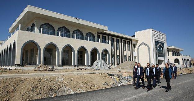 Vali Pehlivan'dan yeni kampüs incelemesi