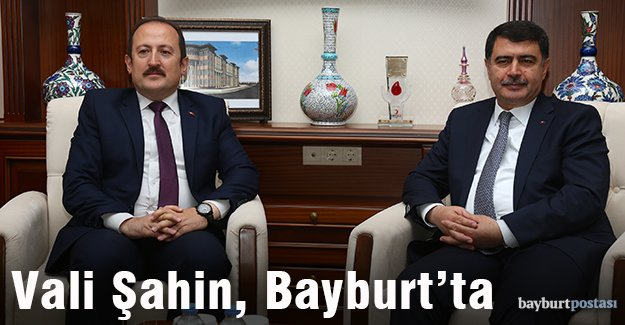 İstanbul Valisi Vasip Şahin Bayburt'ta