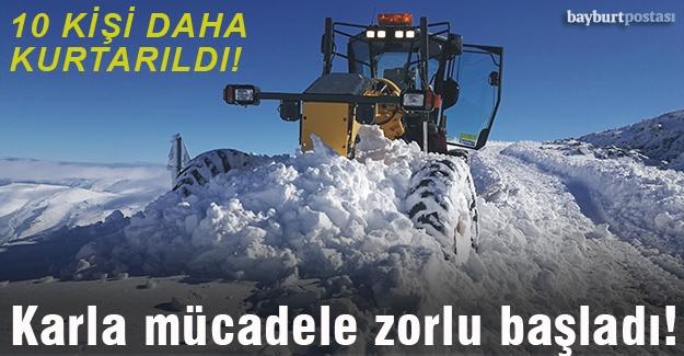 Özel İdarenin karla mesaisi zorlu başladı!