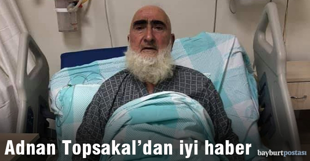 Adnan Topsakal'dan iyi haber