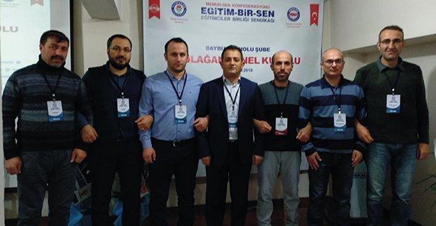 Bayburt Eğitim Bir-Sen'de 4. olağan kongre