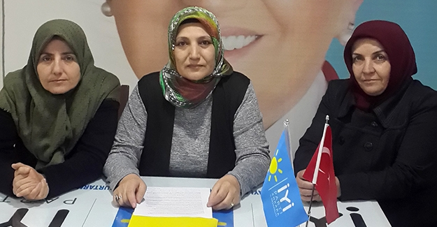 İYİ Parti'den 'Kadın Hakları Günü' açıklaması