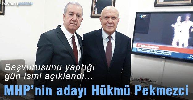MHP Bayburt Belediye Başkan adayı Hükmü Pekmezci