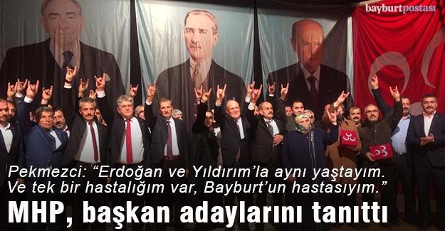 MHP, belediye başkan adaylarını tanıttı