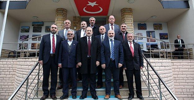Vali Pehlivan, İl Genel Meclis Üyelerini ağırladı