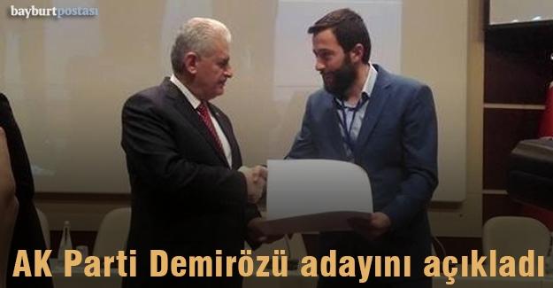 AK Parti Demirözü Belediye Başkan Adayı Arslan Gürer