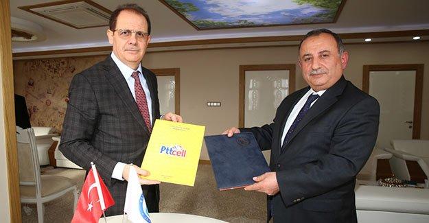 Bayburt Üniversitesi ile PTT arasında protokol