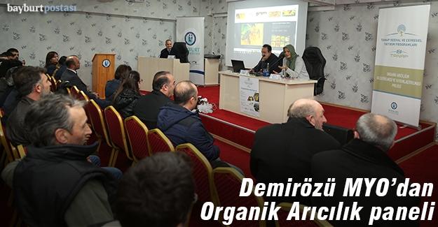 Demirözü MYO, Organik Arıcılık paneli düzenledi