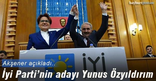İyi Parti Bayburt Belediye Başkan Adayı Yunus Özyıldırım