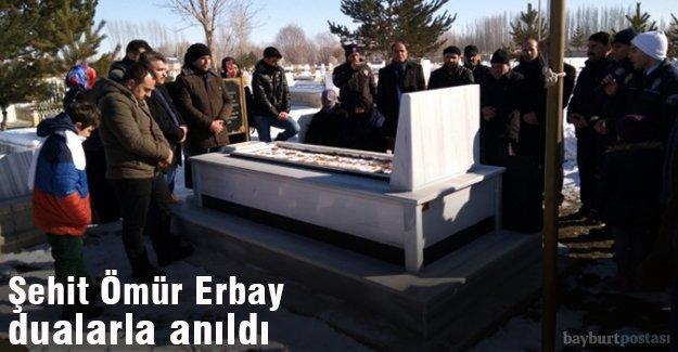 Şehit Ömür Erbay mezarı başında anıldı
