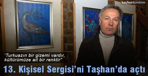 Tekin Koçan'ın kişisel resim sergisi açıldı