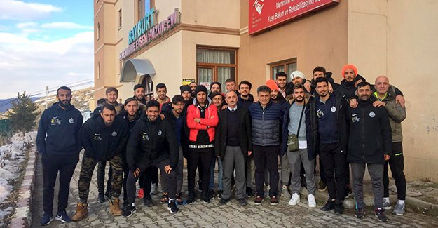 Bayburt İl Özel İdarespor'dan Huzur Evi ziyareti