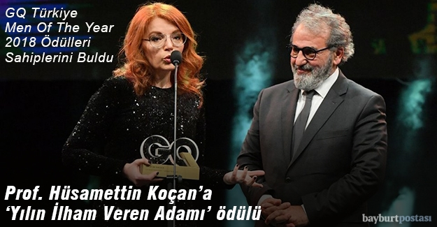 Prof. Koçan'a 'Yılın İlham Veren Adam' ödülü